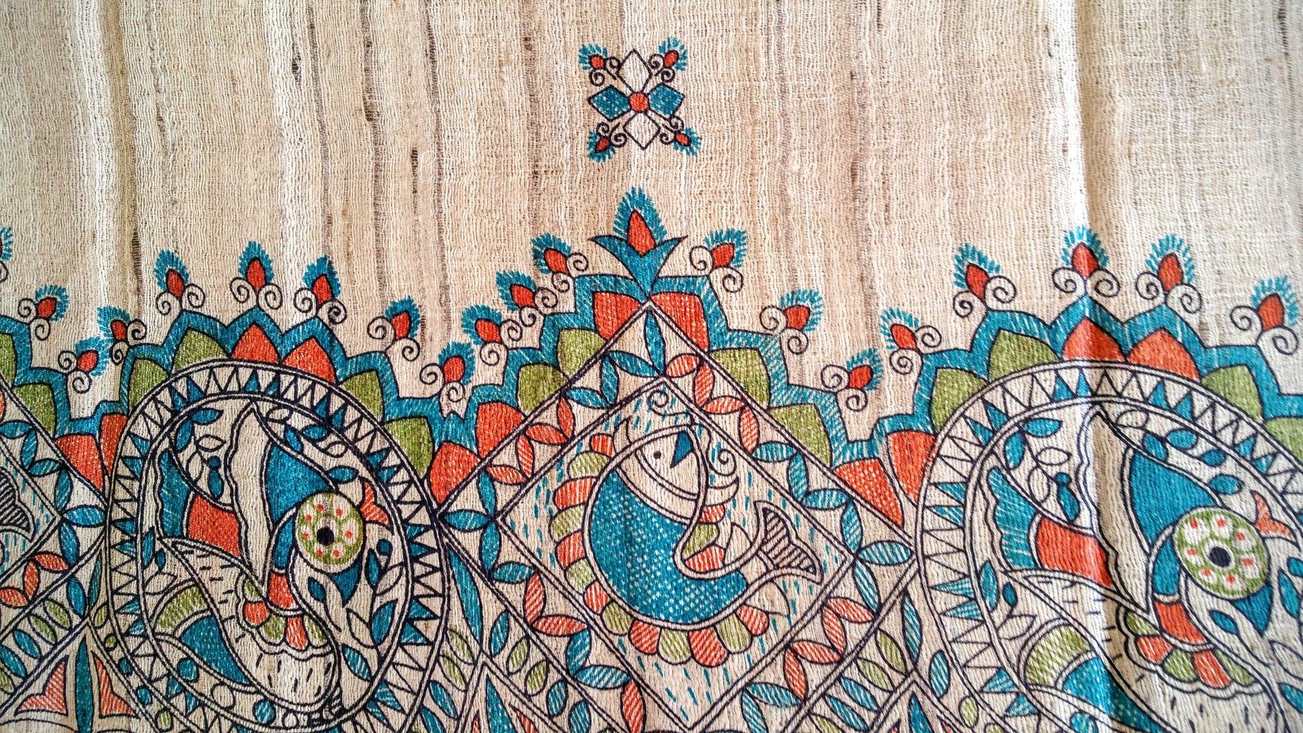 art artistic blue brown
